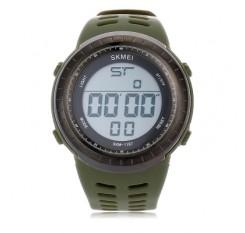 SKMEI 1167 Men LED Digital Sport Watch Big Round Dial Wristwatch