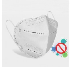 KN95 PM2.5 CE Certification Face Mask Anti-fog Strong Protective Mouth Mask FFP3 Respirator Reusable