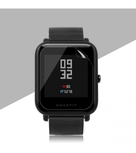 2pcs for Xiaomi Huami AMAZFIT Bip TPU Screen Protective Film