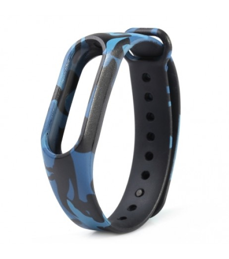 Camouflage Pattern Watch Strap for Xiaomi Mi Band 2