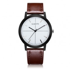 GAIETY G488 Men\'s Leather Business Watch