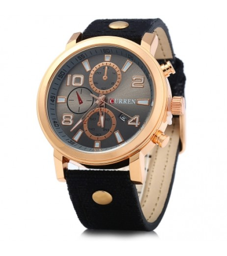 Curren 8199 Men Quartz Watch
