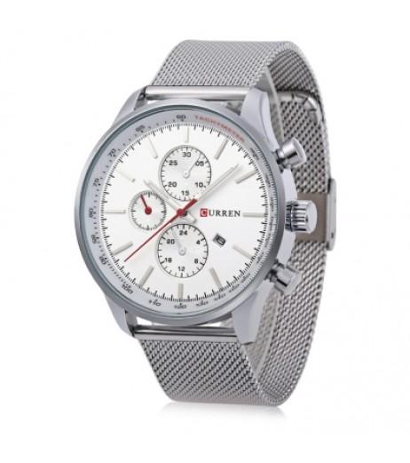 CURREN 8227 Business Men Quartz Watch
