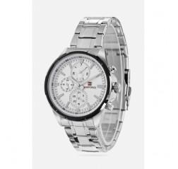 NAVIFORCE 9089 Glass Mirror Business Male Quartz Watch