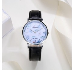 Fanteeda FD096 Men Animal Dial Leather Wrist Watch