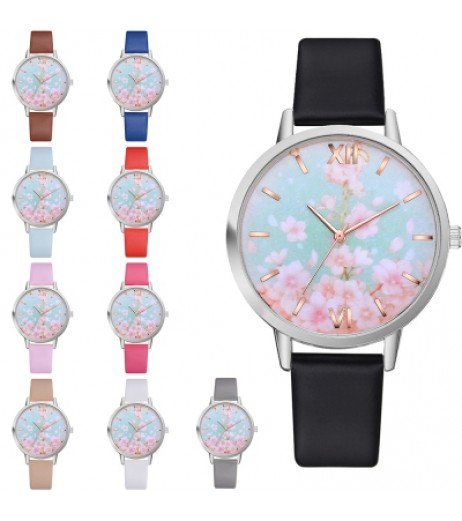 Lvpai P467 Printed Pattern Women Watch