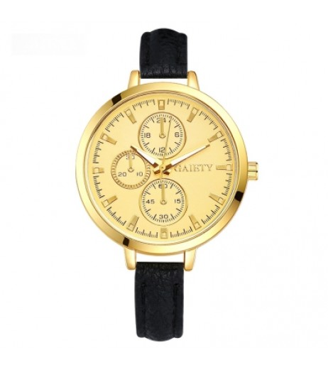 GAIETY G327 Women Fashion Leather Watch